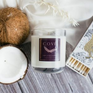 Cové Candles Exotic Coconut and Bergamot Candle