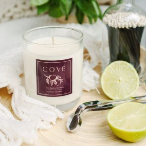 Cové Candles Lime, Basil and Mandarin Candle